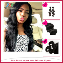 Brazilian hair vendors unprocessed virgin brazilian hair wholesale 100% human hair Directly from factory
