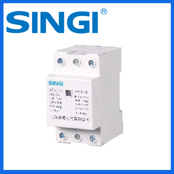 Automatic reset recover over under voltage protection mini circuit breaker