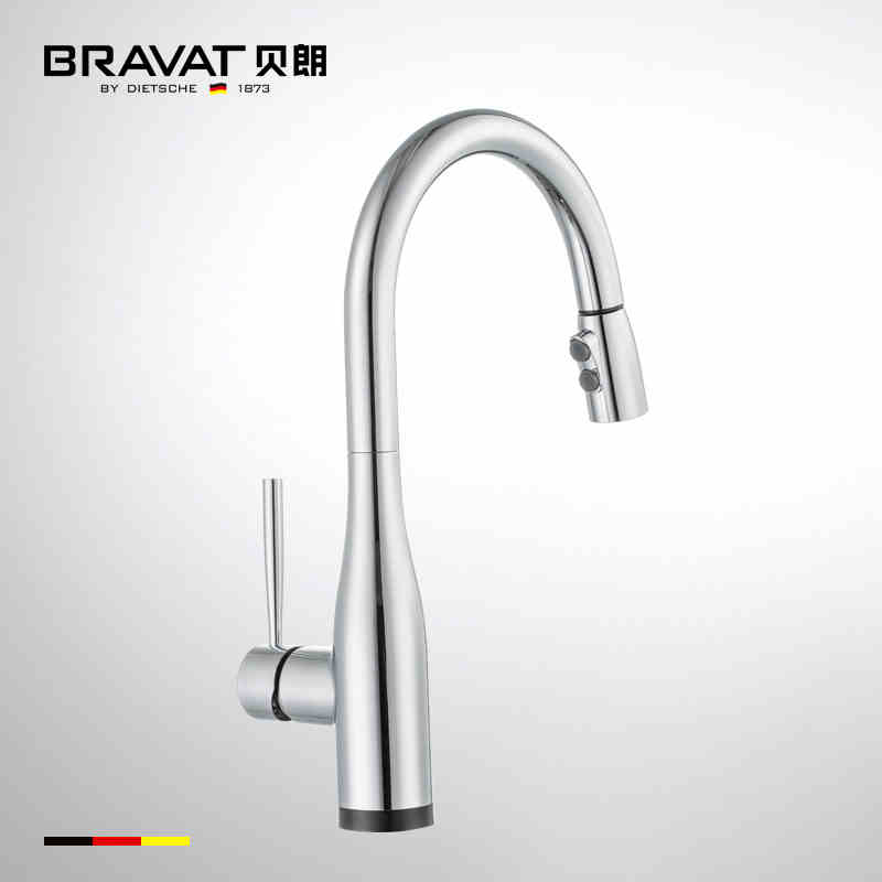 German upc smart touch sense hot cold water kitchen sink faucet F7164208CP