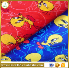cartoon design printe jumping fish fabrics for children clothing