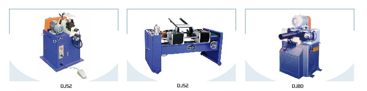 DJ52 Oversea third-party support rod theaded chamfering machine function