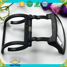 Promotional gifts and children's toy Folding portable magnifying glass Bottles Magnifier