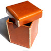 100 Handmade Mini Leather Box