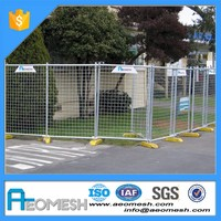 AEOMESH 10 years experience SGS UV certification factory aluminum used temporary fence