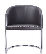 cheap metal chairs/metal armrest chair/round lounge chair