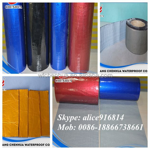 Self-adhesive bitumen tapes band for waterproofing buy from China