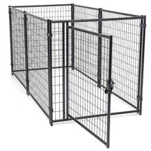 Jewett cameron Lucky dog modular welded wire kennel(6'H*10'L*5'W)/Factory welded wire Dog kennels wholesale