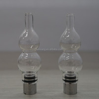 New dry herb dabstix glass globe vaporizer pen FX-01B-01Best quality IN CHINA