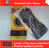 Manufacturer Recycled Industrial Gloves Latex Rubber Working Gloves