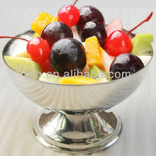 stainless steel goblet for ice cream/ ice cream cups