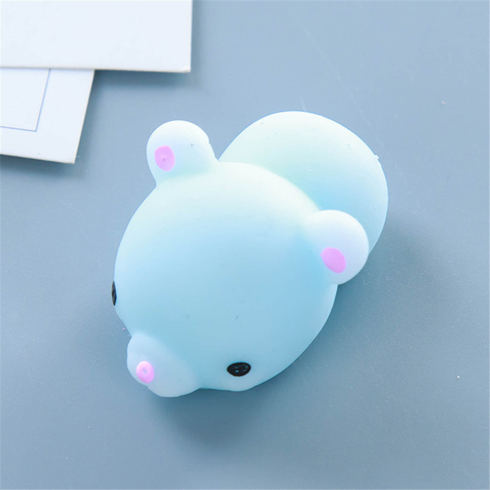 Best Supplier Cute Animal Shaped Changing Office Stress Relief Toy Vent Hand Squeeze Ball Toys