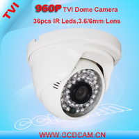 Cheap home security camera Onvif P2P 960P IR Night Vision Low Lux Sensor Indoor 1.3MP HD TVI CCTV Camera
