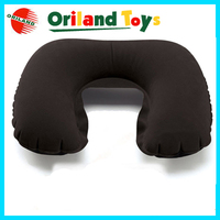 China customized logo promotion inflatable travel pillow