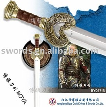 Lord of the rings sword Buster sword Movie sword Cosplay tools By057b