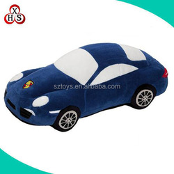 High quality plush stuffed racing car toys