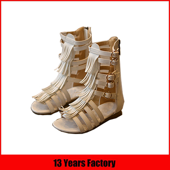 women style strap sandal boot for kid size