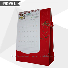 Latest new model top quality unique desk calendar