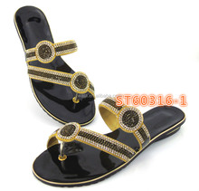 ST60316 -1 black high quality new designs ladies shoes