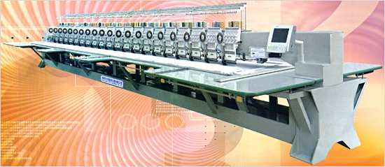 Sequin Computerized Embroidery Machine Gy7----7