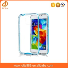 2016 wholesale clear phone cases for galaxy s5 tpu pc case