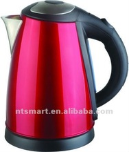 1.8L Stainless Steel 360 degree cordless red Eletric Kettle