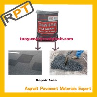 Cold asphalt ------ a kind of asphalt potholes repair material