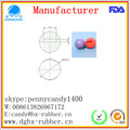 Dongguan manufacturer high bouncy rubber ball for pet