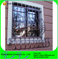 Metal Window Grills Design For Sliding Windows