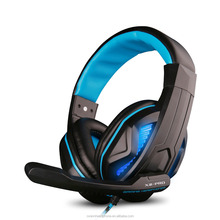 Super Bass Good Quality Inline Control USB Braided Cable Gaming Computer Headphones with Mic Gmaing headphones
