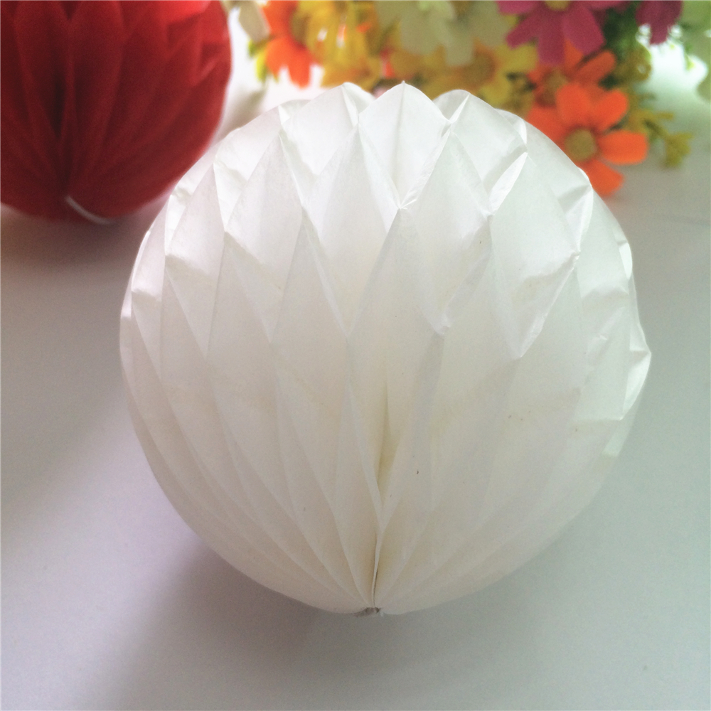 China Wholesale Handmade Party Decorative Paper Honeycomb Balls