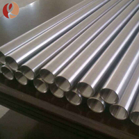Asme sb 338 gr2 seamless titanium tube price for heat exchanger