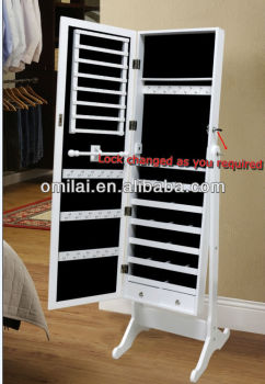 2014 Hot Selling Espain Mirror Jewelry Cabinet