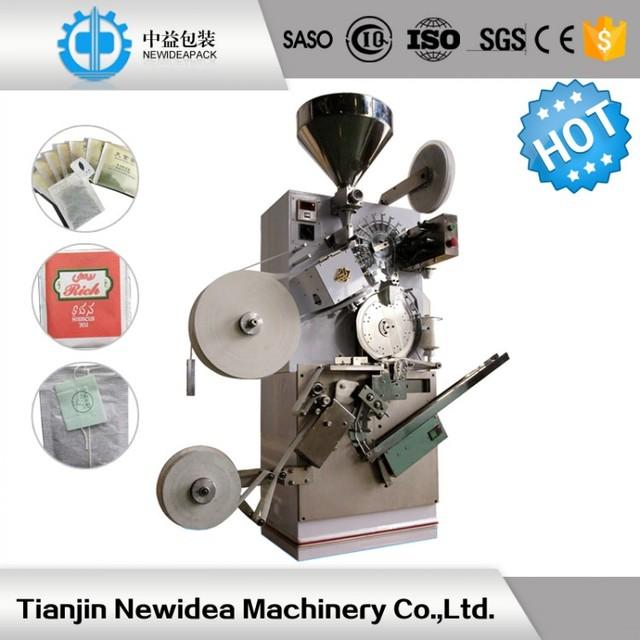 paper envelop 110bags per minute ND-D6 tea bag making filling machine
