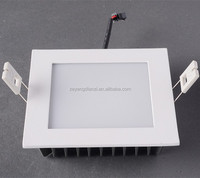 3'' White square led ceiling light 6W recessed lighting slim panel lamp for kitchen bathroom