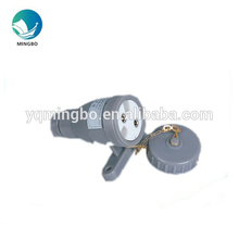 230v marine round plastic industrial electrical outlet CZF2-2