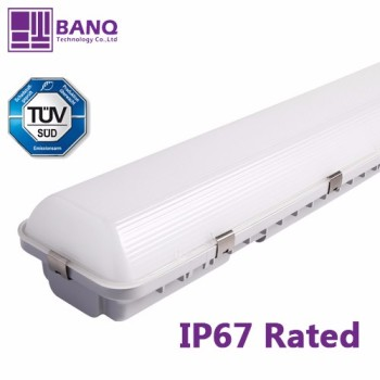 LED Vapor Tight Linear Fixtures 4ft 1200mm 60w IP67 rated