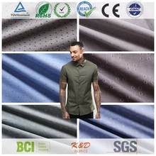 new street fashion woven cotton light weight denim chambray fabrics for shirts factory