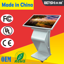 55 60 65 70 75 inch malls School Office Touch Screen Led Smart lcd tv kiosk andriod/window os for shopping ad kiosk machine