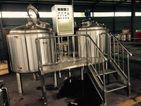 600L/6HL/6BBL used distillery equipment,microbrewery turnkey