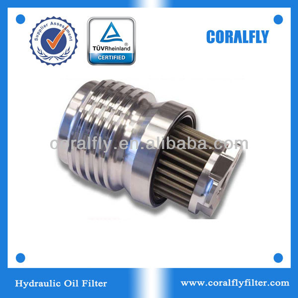 Reusable stainless steel micro filter for oil