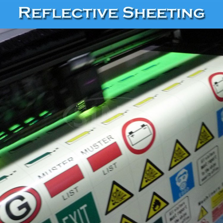 Self Adhesive Outdoor Solvent Printing Reflective Sheeting