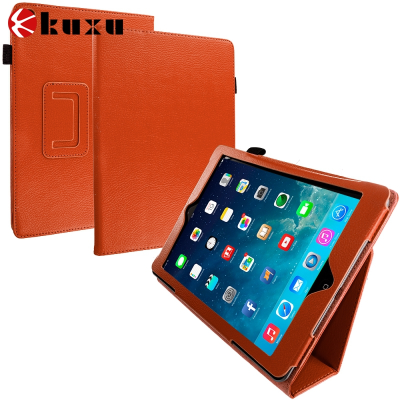 China manufacture quality shockproof cute leather flip universal tablet case for ipad air