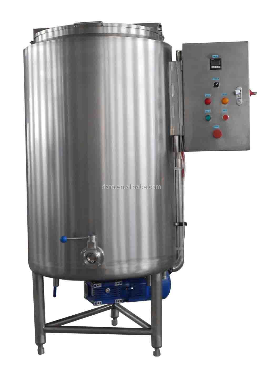 Electric heated syrup melting tank