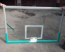 12mm tempered glass for basketball board