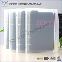 New Arrival Business Office Plastic Cheap Ring Binder Notebook