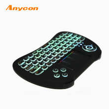 top quality Support PC Android simulation game function virtual laser colored computer mini keyboard h9