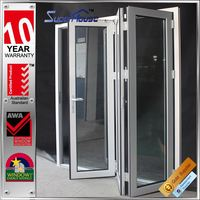 Australian standard fire rating aluminium glass front doors from lowes