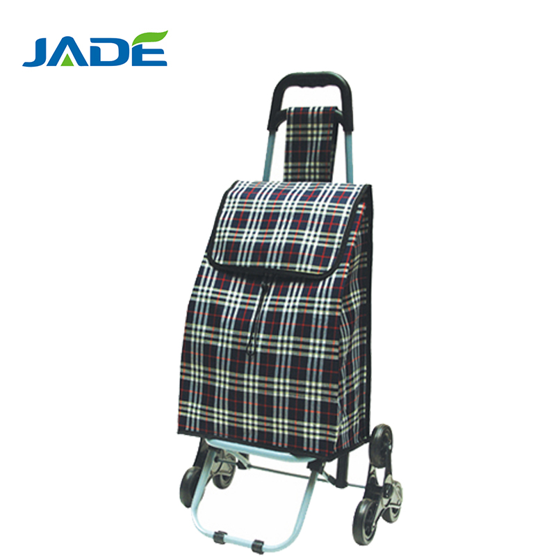 Lightweight Folding Luggage Cart 3 Wheel Can Climb Stair Trolley ...