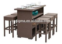 discount patio furniture cocktail tables outdoor wicker bar stools