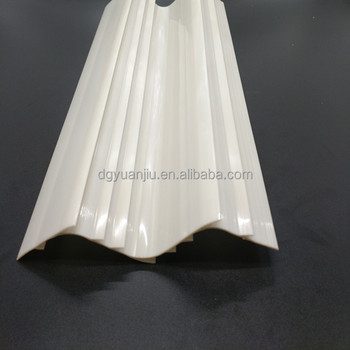 Yuanjiu professional manufacture custom plastic extrusion lighting fixtures PC lampshade
